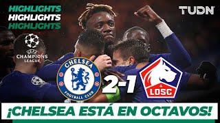 Highlights | Chelsea 2 - 1 Lille | Champions League - J 6 - Grupo H | TUDN