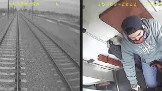 Así frenó el motorman del Tren Roca para evitar atropellar al nene en las vía