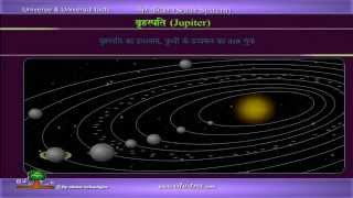universe & universal facts- solar system in HINDI by edutree HD