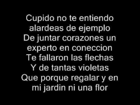 letras cancion amor: