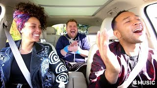 carpool karaoke the series — alicia keys and john legend — apple music