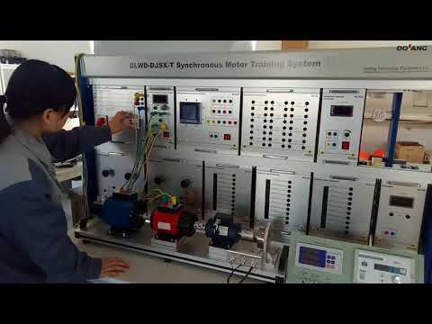 Synchronous motor training system DC motor control training for education