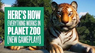 Here's How Everything Works in Planet Zoo - Planet Zoo PC Gameplay