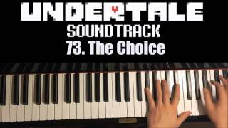 Undertale OST - 73. The Choice (Piano Cover by Amosdoll)