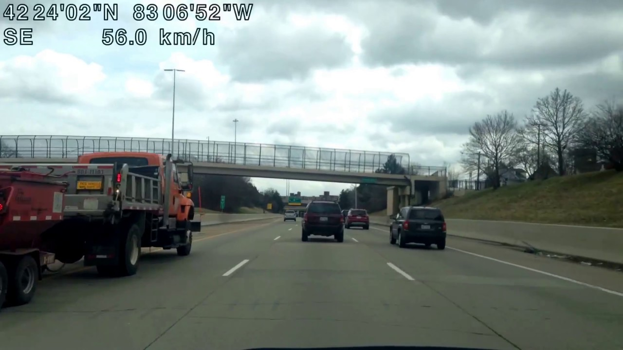 Driving From Southfield Michigan To Motor City Casino In