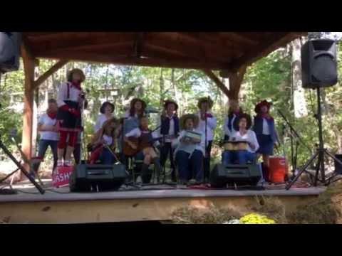 10-1-16 Shady Grove Stage John C. Campbell Folk School Fall Festival