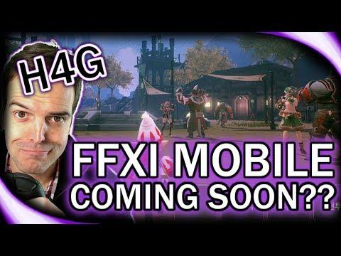 FFXI Mobile Coming Soon?! - Huntin 4 Game News