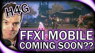 FFXI Mobile Coming Soon?! - Huntin 4 Game News