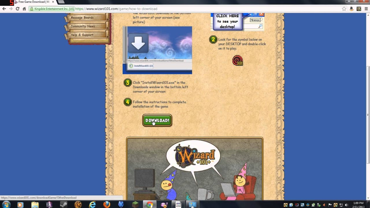 Wizard101 loading problems - how to uninstall and reinstall