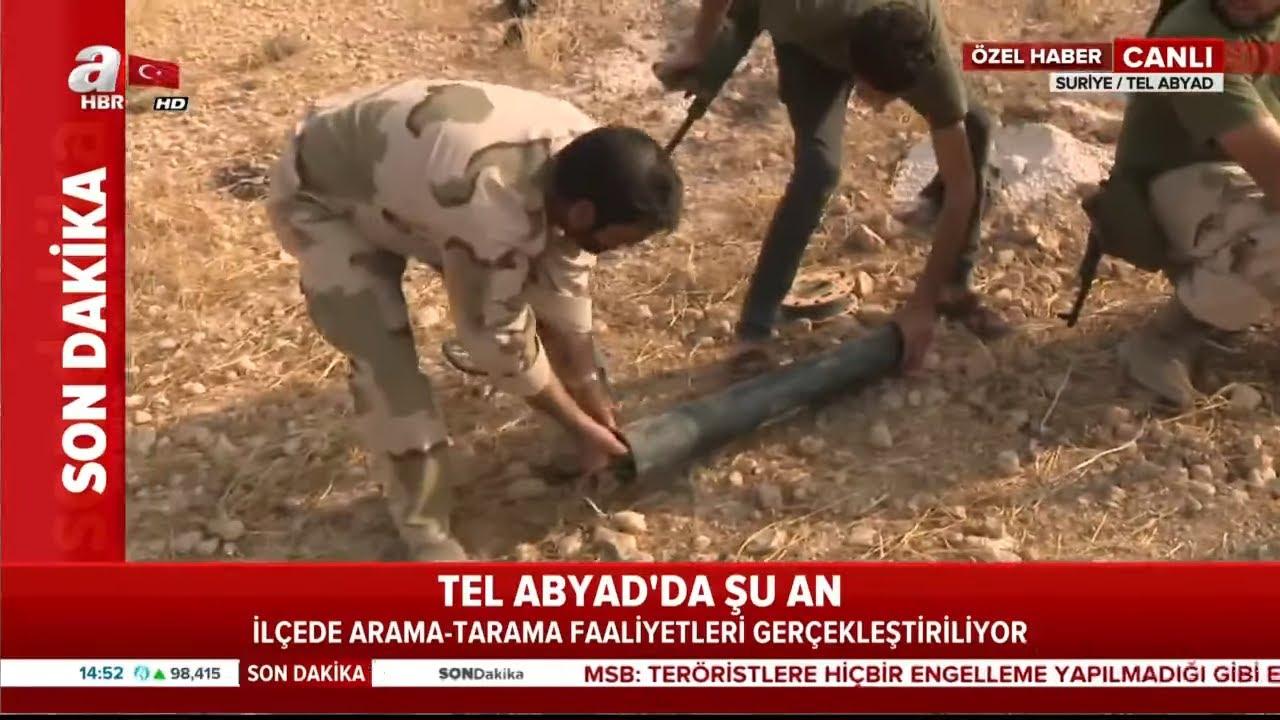 Tel Abyad'da Son Durum! / Mayınlar Temizleniyor! / A Haber