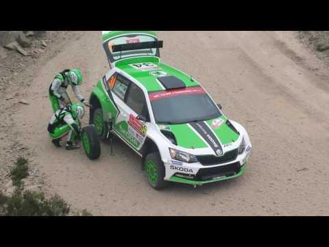 Pontus Tidemand e o seu furo em Portugal - Doidos por Rally