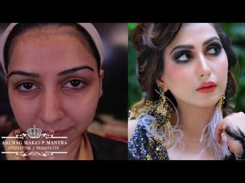 Red carpet bridal look,by Anurag sir,makeup diploma class START 18th Dec 2019  Mumbai call9920127706