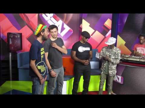 MC ZULU - On TV in Uganda - NTV The Beat