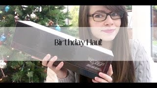 Birthday Haul! Thumbnail