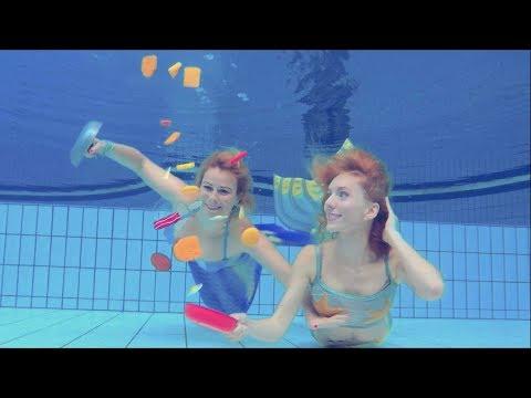 On Cuisine Sous L'eau Avec Virginie ! -  NAGE AVEC LES STARS - 2