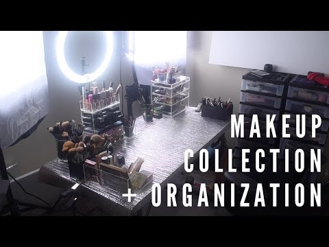Makeup Collection + (Inexpensive) Organization | Angela Bright 2019 Mp3