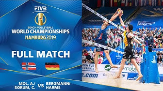 Mol/Sorum (NOR) vs. Bergmann/Harms (GER) - Full Match | Beach Volleyball World Champs Hamburg 2019