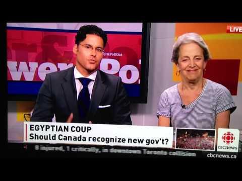 Mohamed El Rashidy and Janice Stein on Egyptian president M