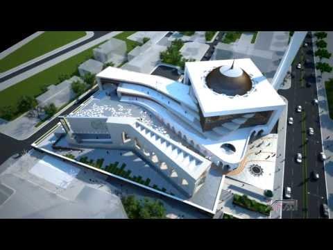 XplanStudio - Competition for the Central Mosque of Prishtina Kosovo