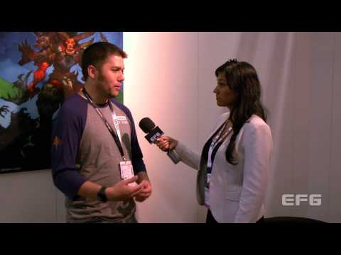 Gamescom 2013 interview with Chris Lynch - WildStar