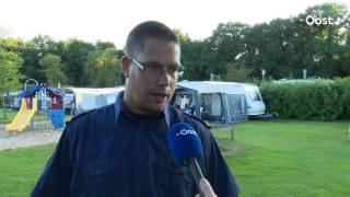 Brandweer Twente inspecteert caravans op camping in Nijverdal op brandveiligheid