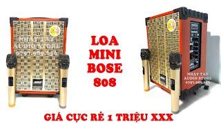 [ Review ] Bose 808 - Loa Kẹo Kéo   Loa Karaoke Mini   Loa Kéo Di Động