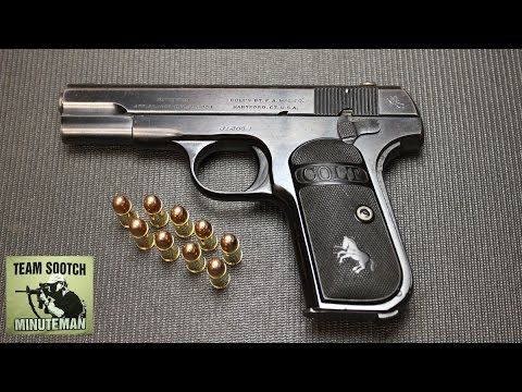 Colt Model 1903 Pistol Review
