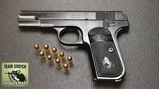 Colt Model 1903 Pistol Review