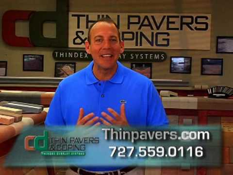 install pavers over concrete! - youtube