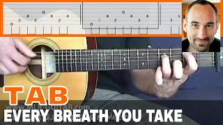 """Guitar Cover / Tab """"Every Breath you Take"""" by MLR-Guitar"""