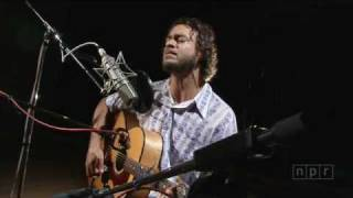 """Amos Lee Performs """"Truth"""" at NPR's Studio 4A"""