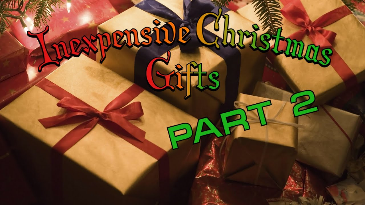 inexpensive and some diy christmas gift ideas for neighbors friends co workers part 2 youtube