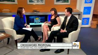 Crossword Puzzle Marriage Proposal