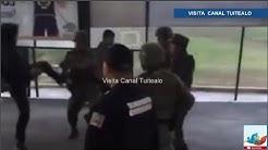 Jvenes agreden a militares en la entrada de la FES Acatln Video