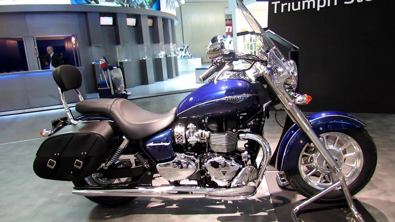 2014 Triumph America LT Walkaround - 2013 EICMA Milano Motorcycle ...
