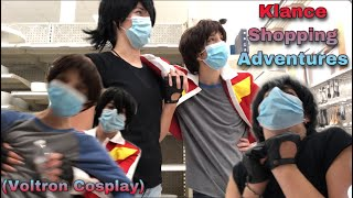 Klance Shopping Adventures (Voltron Cosplay)