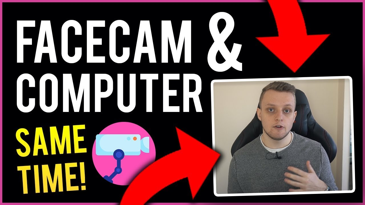 How To Record Computer Screen With Facecam (At The Same Time)