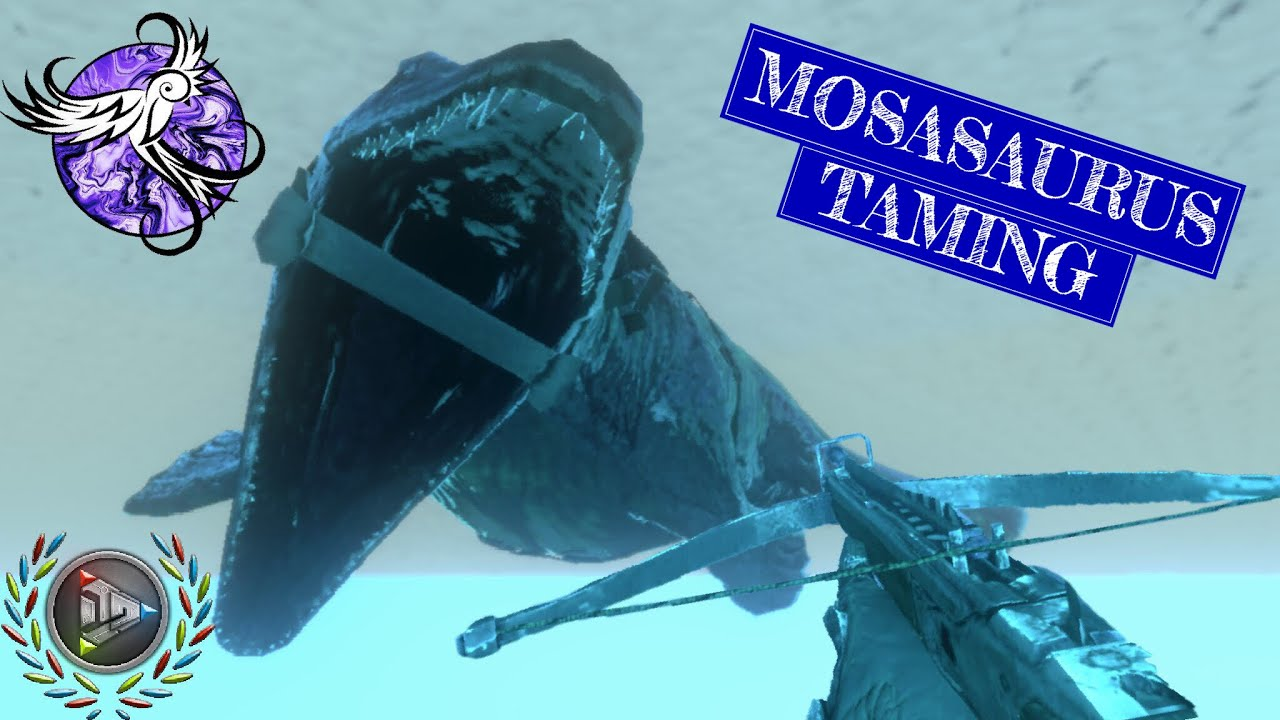 Download TAMING A MOSASAURUS!!!   [S1E40]   ARK Survival Evolved Mobile