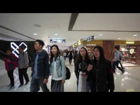 Hong Kong, walking around in Harbour City