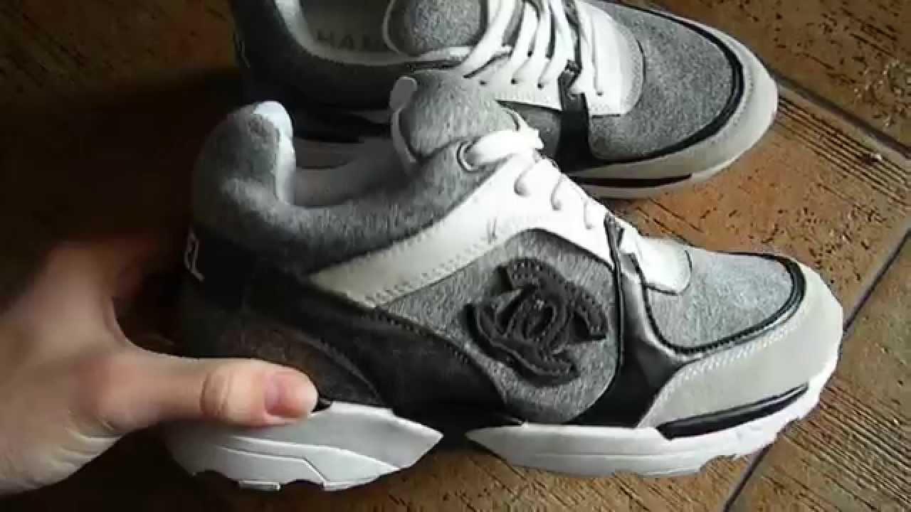 Кожаные кроссовки chanel от Brandi shop - YouTube 3d2a89e6372