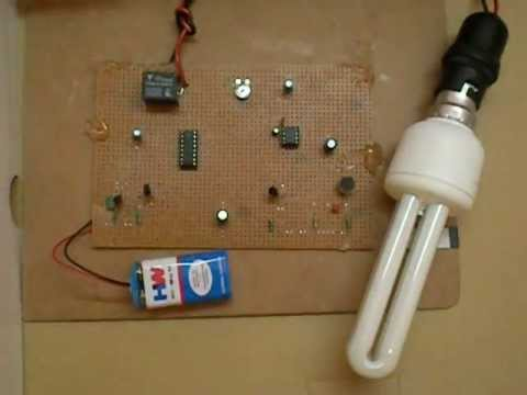 clap swtich Here is a hobby circuit for electronics hobbyists that can switch on & off a light, fan, radio etc, by the sound of clap the sound of clap is received by a small microphone that is shown biased by resistor r1 in the circuit the microphone changes sound wave in to electrical wave, which [.