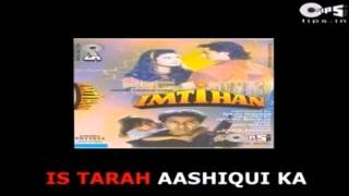 Is Tarah Aashiqui Ka Karaoke (Kumar Sanu)