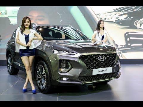 Hyundai Santa Fe 现身 KLIMS 2018