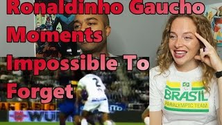 Ronaldinho Gaucho ● Moments Impossible To Forget (Reactioin 🔥)
