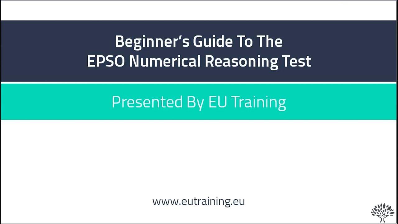 Numerical Reasoning Test Pdf