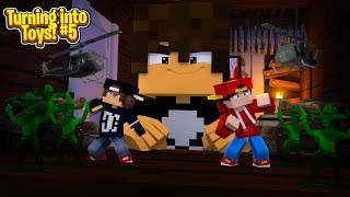 Minecraft TOYS #5 - THE BULLIES ARMY GENERAL BATTLES ROPO & JACK