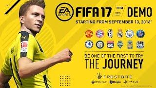 بث حي لديمو FIFA 17 على بلاي سيتشن