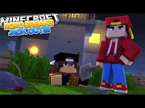 Minecraft Adventure - ROPO & JACKS PRISON BREAK!!! - Видео из Майнкрафт (Minecraft)