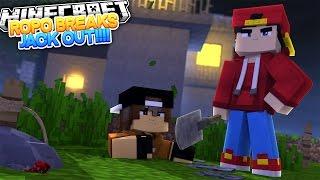 Minecraft Adventure - ROPO & JACKS PRISON BREAK!!!