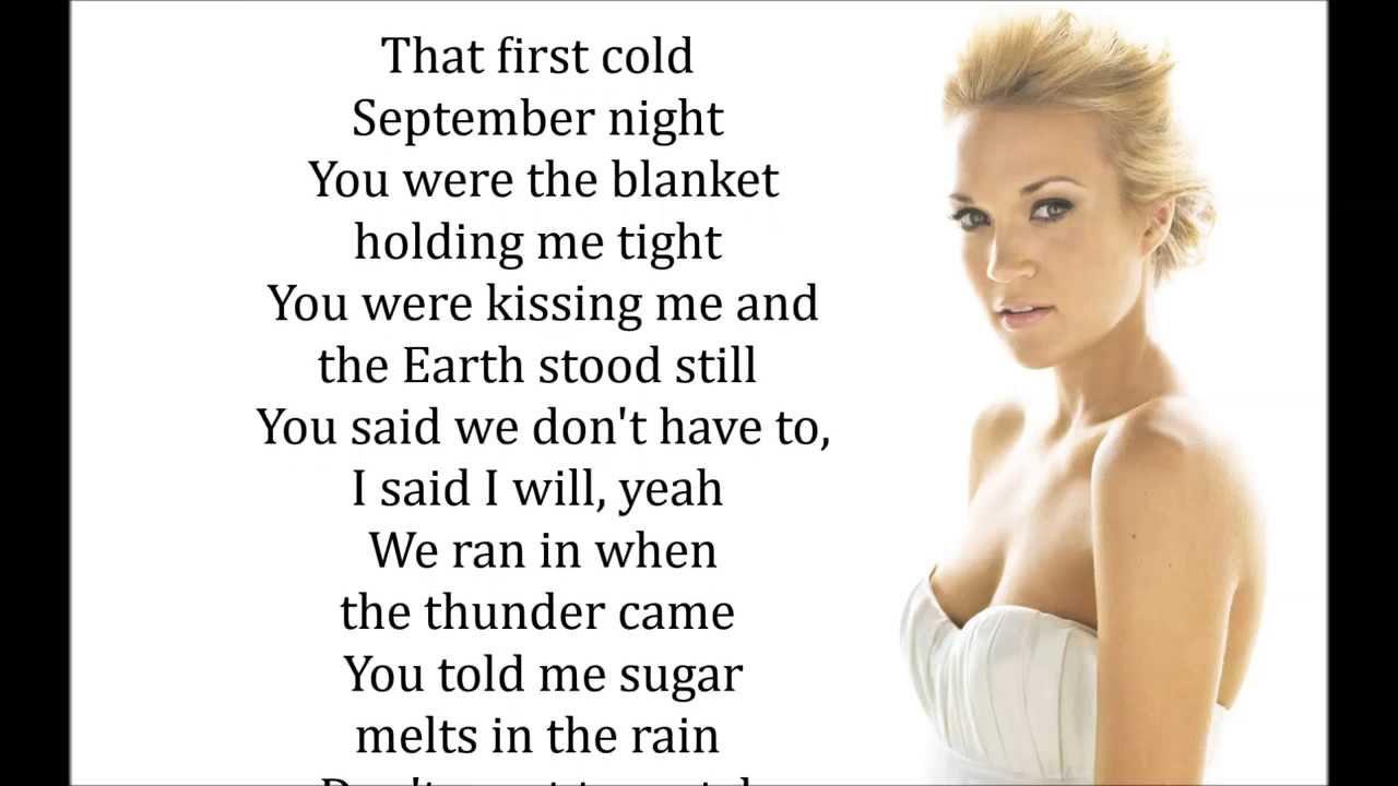 Do you still think about me lyrics
